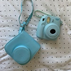 instax mini light blue